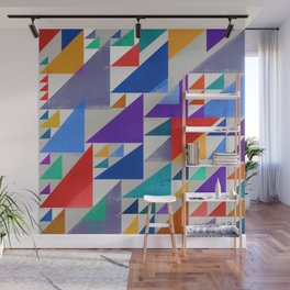 Abstract Composition 393 Wall Mural