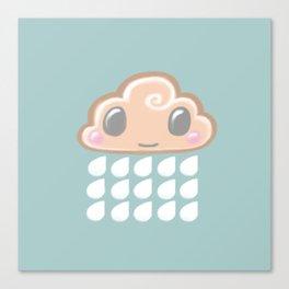 Baby Cloud Sprinkle Canvas Print