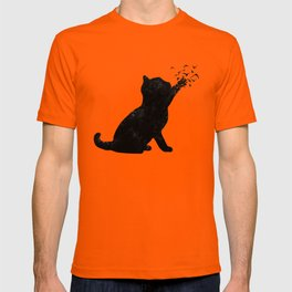 Poetic cat T-shirt