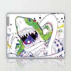 Shark vs Octopus Laptop & iPad Skin