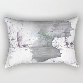 Gray hand-drawn wash drawing design Rectangular Pillow