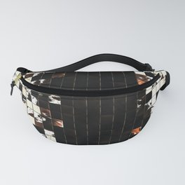 Square Tiles Ceramic Mosaic Pattern Sienna Accent Fanny Pack