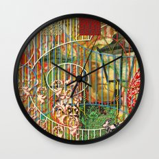 Being for the Benefit of Mr. Liddell's Daughters (2) Wall Clock