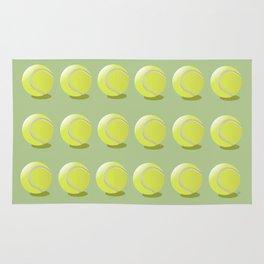 Tennis Ball Pattern Rug