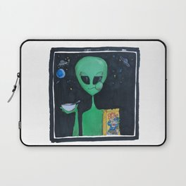 Breakfast in Space Laptop Sleeve