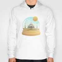 sand Hoodies featuring Sand Globe by Moremo
