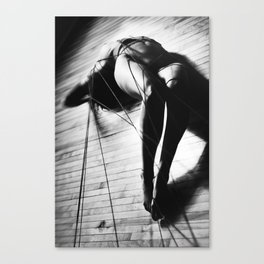 "Opiette by Ubik - ""Redline"" series - Nude Photography Canvas Print"