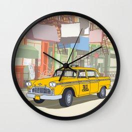 NEW YORK CAB Wall Clock
