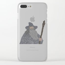 Wizard Clear iPhone Case