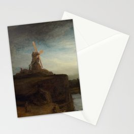 Rembrandt van Rijn - The Mill Stationery Cards