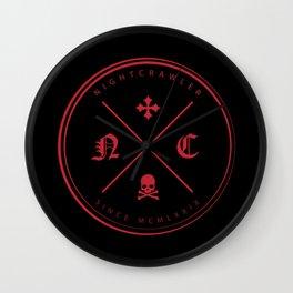 Nightcrawler Logo Wall Clock