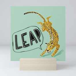 Leap Mini Art Print