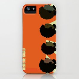 Hedgie road iPhone Case