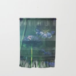 Scabious Blue Wall Hanging