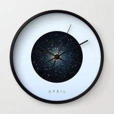 April inspired Wall Clock