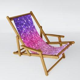 Unicorn Girls Glitter #3 #shiny #decor #art #society6 Sling Chair