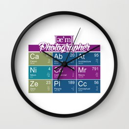 ae'm Photographer Wall Clock