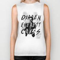 darren criss Biker Tanks featuring Darren Criss by kltj11