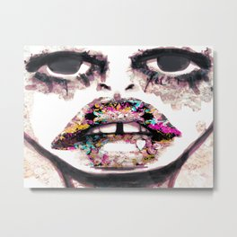 Born to Be Exteriorly Ugly Metal Print