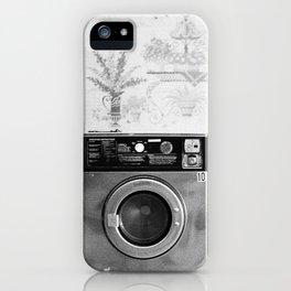 Vintage Laundromat iPhone Case