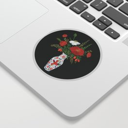 Chinese vase Sticker