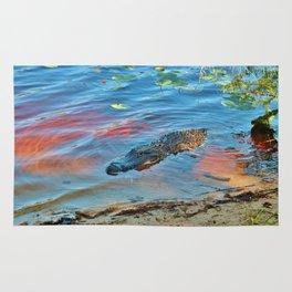 Good Morning Alligator Rug