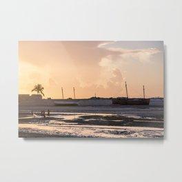 Bello sur Mer, Madagascar. Metal Print