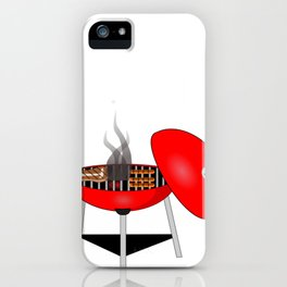 Grilling All Up In My Grill Funny Grill Master Gift iPhone Case