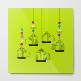 BIRDS 03 Metal Print
