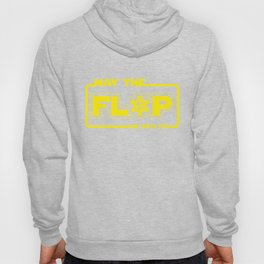 May The Flop Be With You - Funny Poker Pun Gift Hoody
