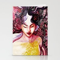 alone Stationery Cards featuring Alone by Verismaya