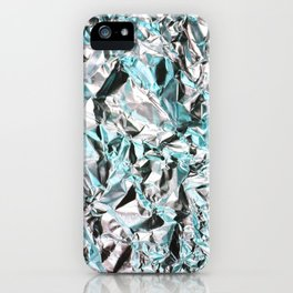 FOILED {BLUE} iPhone Case