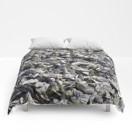 Shucked Oyster Shells Comforters