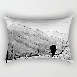 Found (Backpacking Angeles National Forest PCT) - Inktober 2017 Rectangular Pillow