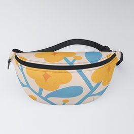 Abstraction_Floral_Blossom_02 Fanny Pack