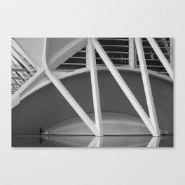 CALATRAVA | architect | City of Arts and Sciences Canvas Print