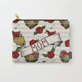 Rockabilly tattoo style Carry-All Pouch