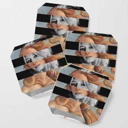 Botticelli's Venus & Brigitte Bardot Coaster