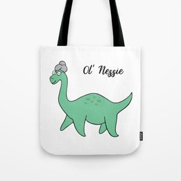 Ol' Nessie Tote Bag