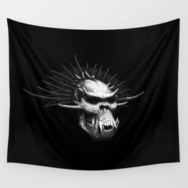 Troll Skull Wall Tapestry