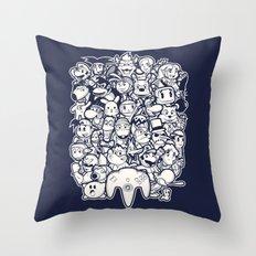 64Bit Throw Pillow