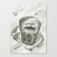 whiskey Canvas Prints featuring Whiskey by Matthew Hall