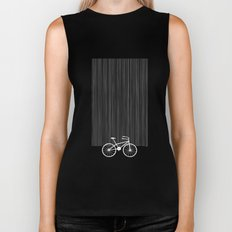 Blue Bike by Friztin Biker Tank