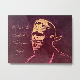When It's Dark Out Metal Print