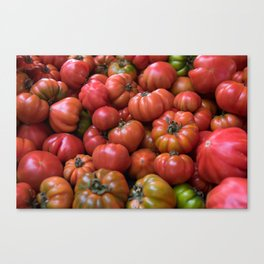 Tomato Pattern Canvas Print