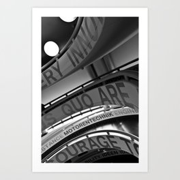 Motorentechnik Art Print
