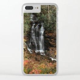 Hidden Falls Clear iPhone Case