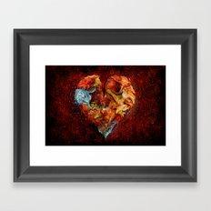 Liebesphasen ! Framed Art Print