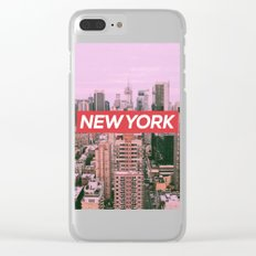 New York City (Vintage Collection) Clear iPhone Case