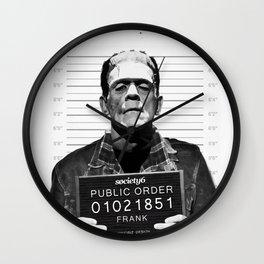 Public Order Frank Wall Clock
